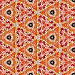 Seamlessly tiled kaleidoscopic mosaic pattern — Stock Photo