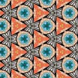 Royalty-Free Stock Photo: Seamlessly tiled kaleidoscopic mosaic pattern