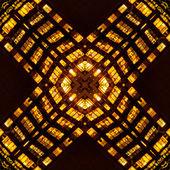 Kaleidoskopischen bürogebäude architektur muster — Stockfoto