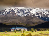 Whakapapa Village in Tongariro NP New Zealand — Stock Photo