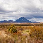 Active volcano Mount Ngauruhoe in Tongariro NP NZ — Stock Photo