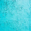 Blue paint background grungy cracked and chipping — Stock Photo
