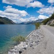 Alaska Highway Muncho Lake Prov Park BC Canada — Stock Photo #37689679
