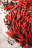 Chili peppers — Fotografia Stock