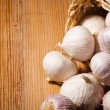Chinese garlic — Stock Photo