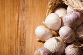 Chinese garlic — Stockfoto