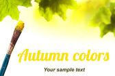 Autumn background — Foto Stock