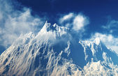 Mountain peaks — Stock Photo
