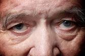 Old man eyes — Stock Photo