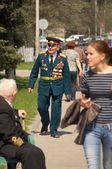 Veterans of the World War II — Stock Photo
