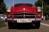 Retro russische sovjet-auto moskvich — Stockfoto