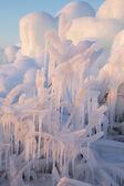 Ice mountains — Stock Photo