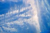 Ice cave exit — Stockfoto