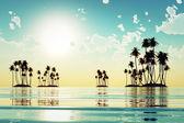 Tropical islands — Stock Photo
