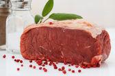 生牛肉 — 图库照片