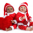 Santa Baby Doll — Stock Photo