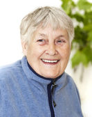 Active senior woman portrait — Stock Photo