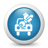 Icon depicting car repair — Stock Photo