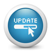 Icon depicting the term update — Stock Photo