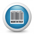 "Icon marked ""Made in Italy"" — Stock Vector #21984651"
