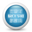 "Icon marked ""Made in France"" — Stock Vector #21989871"