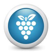 Grape single icon — Stock Vector