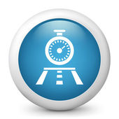 Icon depicting a stopwatch — Stock Vector