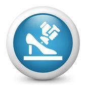 Icon of shoemaker — Stock Vector