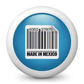 """Icon marked """"Made in Mexico"""" — Stock Vector"""