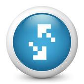 Pixel exchange sign — Stock Vector