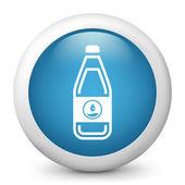 Bottle of water or generic liquid — Stock Vector