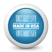 """Stamp marked """"Made in USA"""" — Stock Vector"""