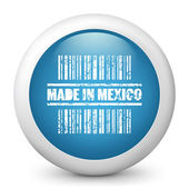 "Icon marked ""Made in Mexico"" — Stock Vector"