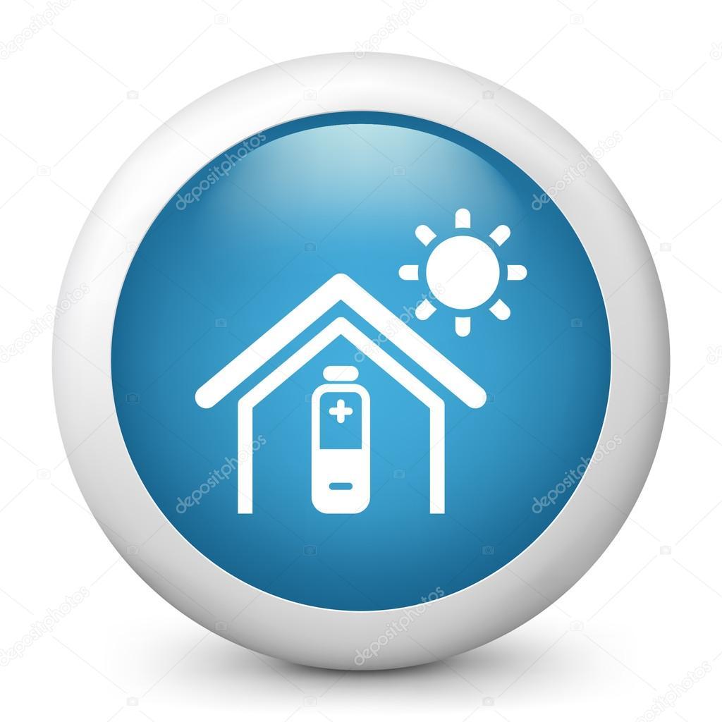 Solar Energy Icon Solar - ilustracin de