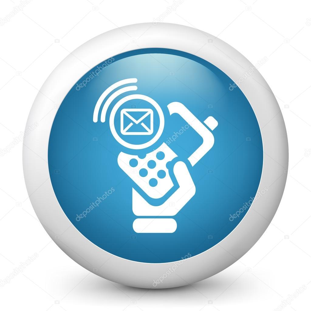 значок сотового телефона: