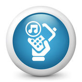 Cellular phone ringtone — Stock Vector