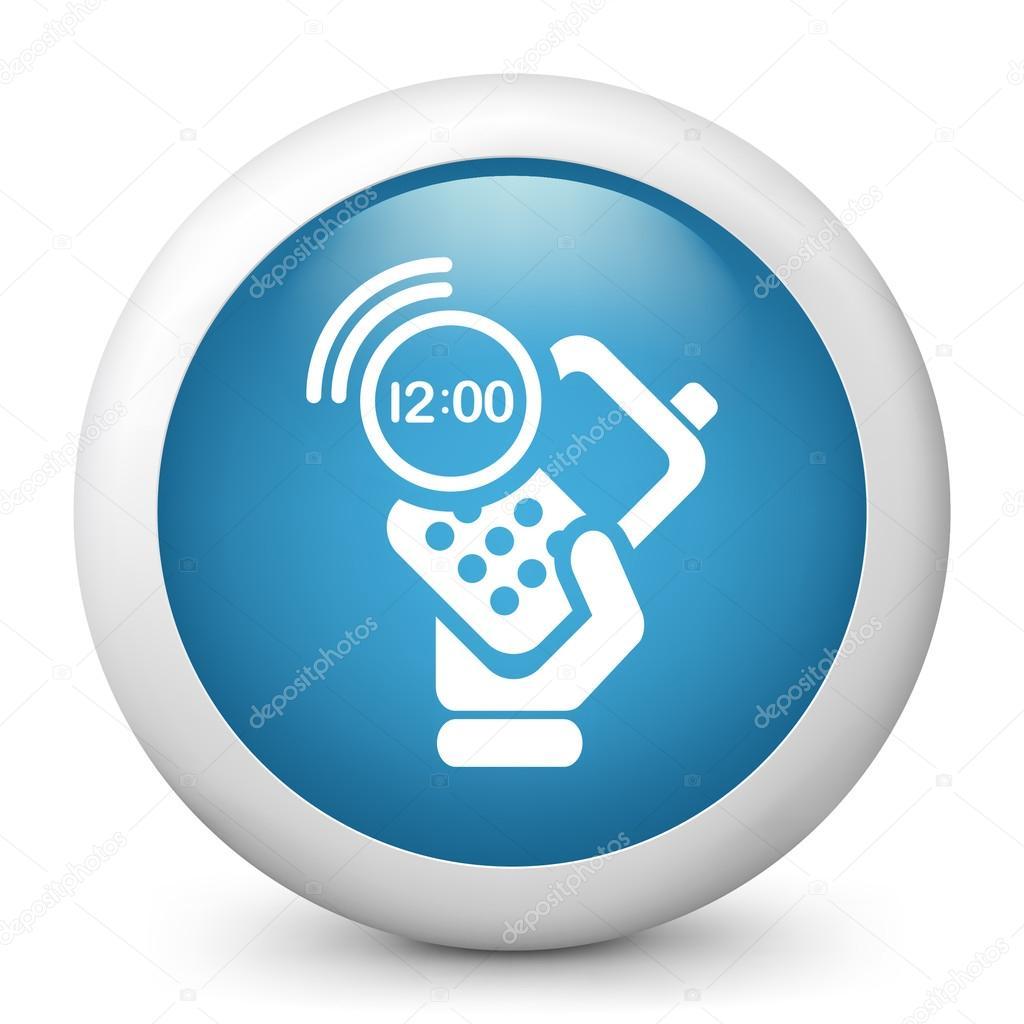 Simbolos de Telefone Celular um Telefone Celular Com o