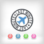 Last minute airline offer — Stockvector