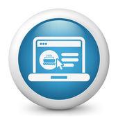 Réservation bateau Web — Vecteur