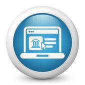 Historische website pictogram — Stockvector