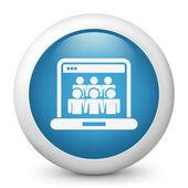 Social Network concept icon — Stock Vector