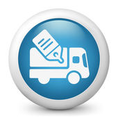 Delivery or shipping concept icon — Stock Vector