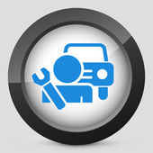 Car assistance icon concept — Stock Vector