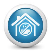 House protection concept icon — Stockvektor