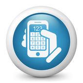 Call phone icon concept — Stock Vector