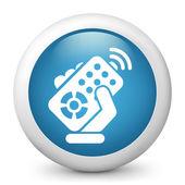 Remote control icon — Stock Vector