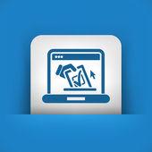 Vote web concept — Stock Vector