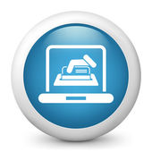 Online credit card — Stock Vector