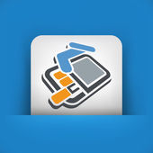Pack of cigarettes 3d icon — Stock Vector