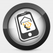 Phone message icon — Stock Vector